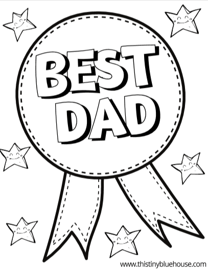 Free, Printable Father's Day Coloring Pages for Kids | 529x407