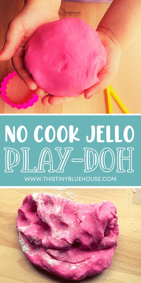 Best Easy DIY Non-Toxic No Cook Jello Play-Doh