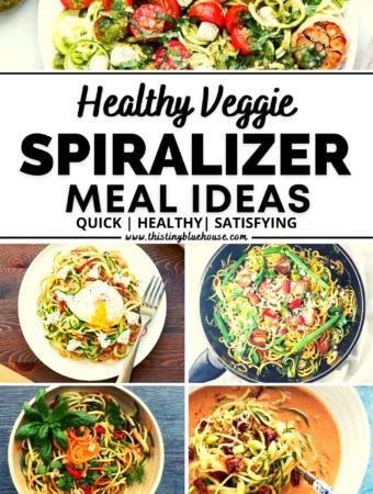 7 Must Try (Super Healthy) Veggie Spiralizer Recipes
