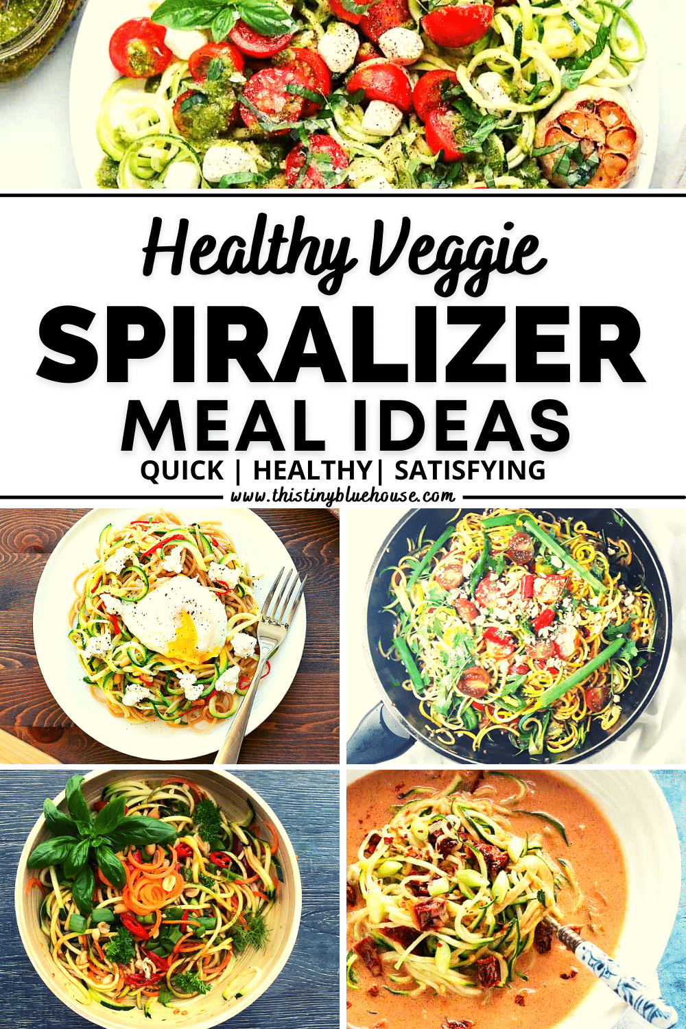 7 Must Try (Super Healthy) Veggie Spiralizer Recipes