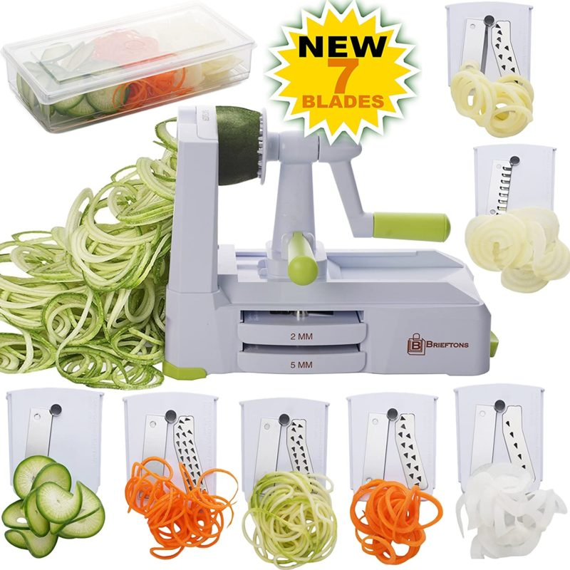 Enjoy these Veggie Spiralizer Recipes any night of the week! These healthy recipes are perfect alternative to traditional noodle dishes with far less carbs. So, whether you are watching your carb intake or just want to add more vegetables to your diet these delicious Veggie Spiralizer Recipes make for the perfect meal.