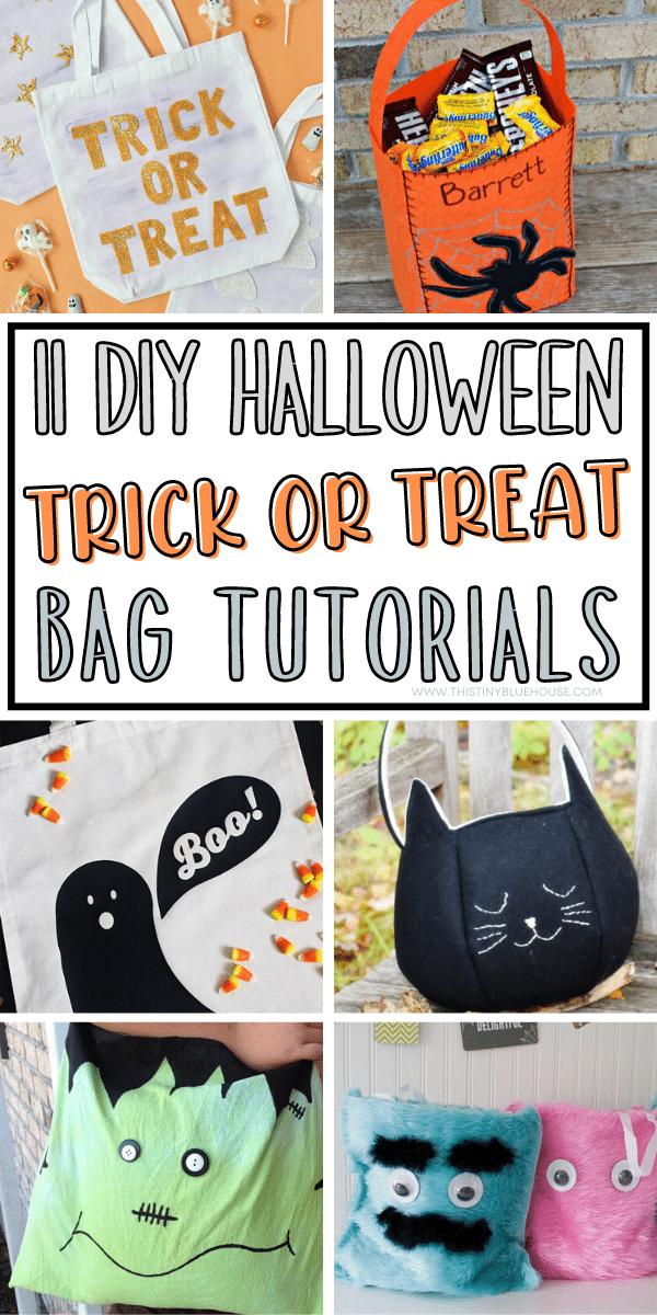11 Cheap & Easy Diy Halloween Trick Or Treat Bags