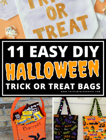 11 Cheap & Easy Diy Halloween Trick Or Treat Bags