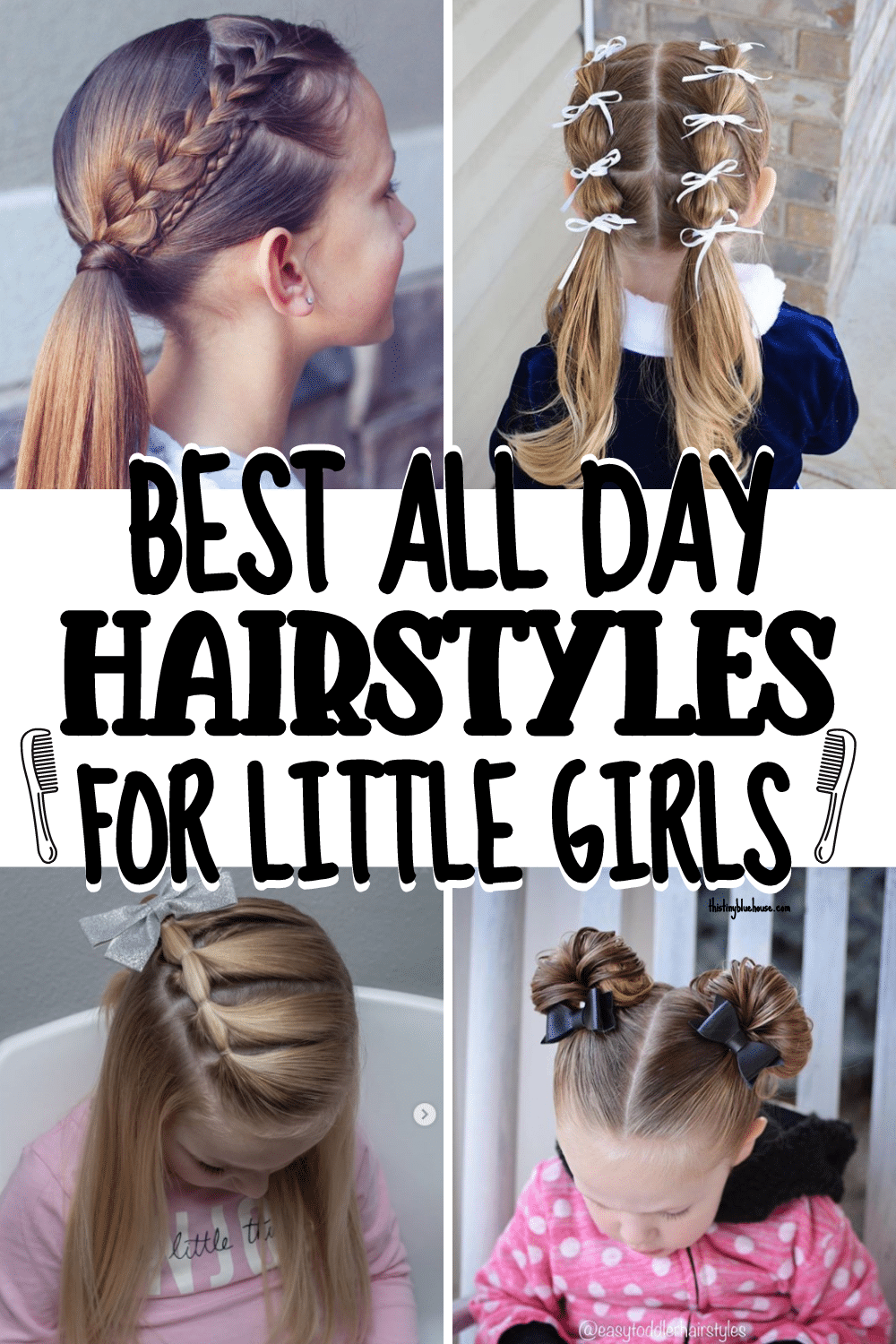 Cute & Easy Hairstyle For Girls that last ALL DAY