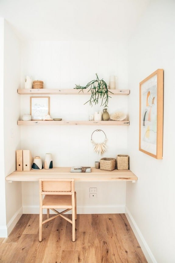 19 Gorgeous Small Space Home Office Ideas That Boost Productivity