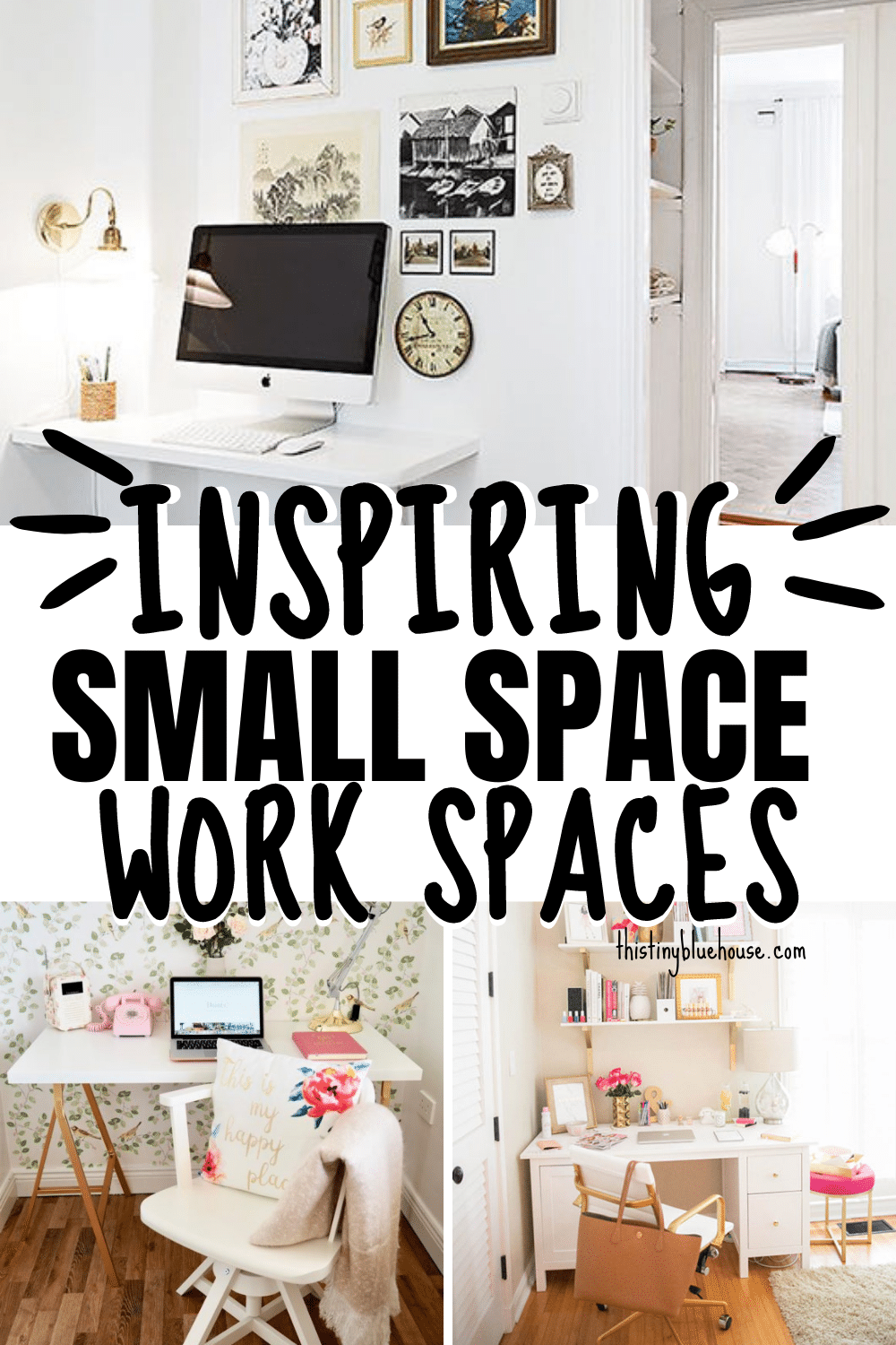 Inspiring Small Space Work Stations