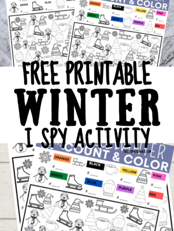 FREE Printable I Spy Activity Game For Kids (Ages 3+)