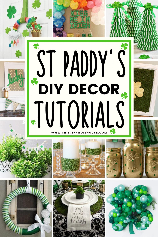 DIY St Patrick's Day Decor Ideas