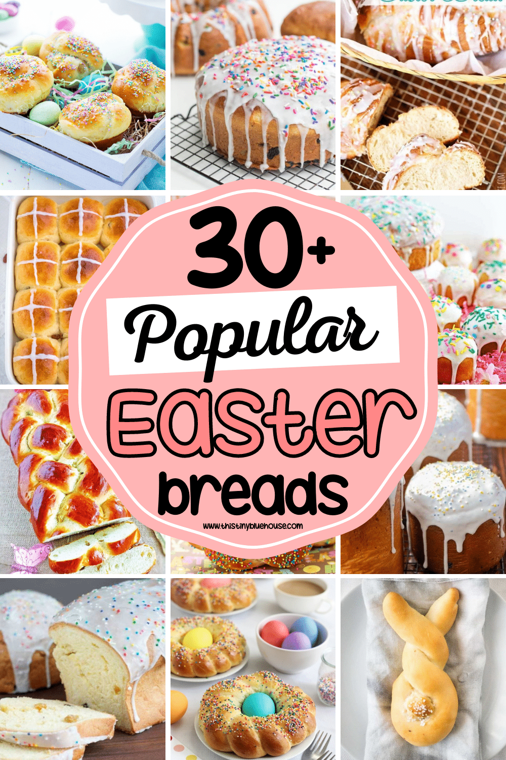 Add one of these best delicious Easter Bread recipes to your family's traditions and make celebrating Easter extra special this year.
