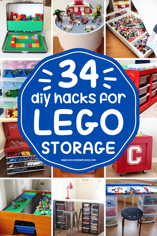 30+ Popular DIY LEGO Storage Ideas Every Parent Needs To Know