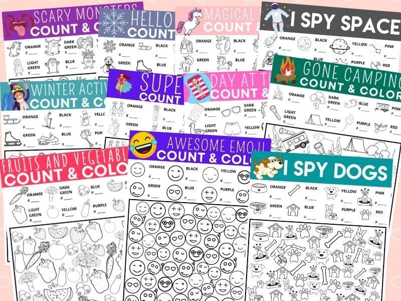 I Spy Printables