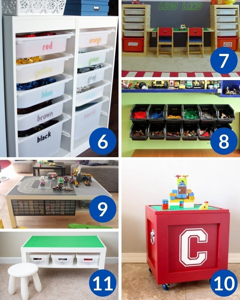 30+ Sanity Saving DIY LEGO Storage Ideas Every Parent Needs To Know