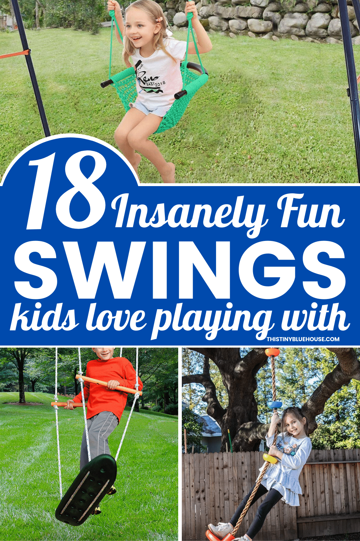 Crazy Fun Outdoor Swings For Kids