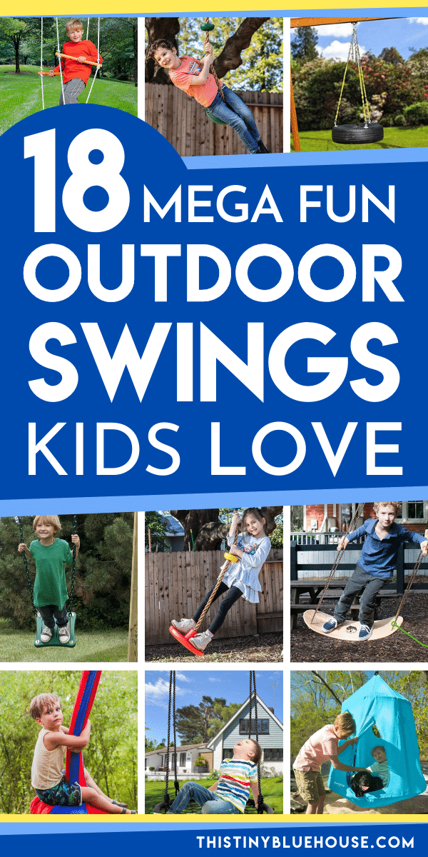18 Mega Fun Backyard Swings For Kids