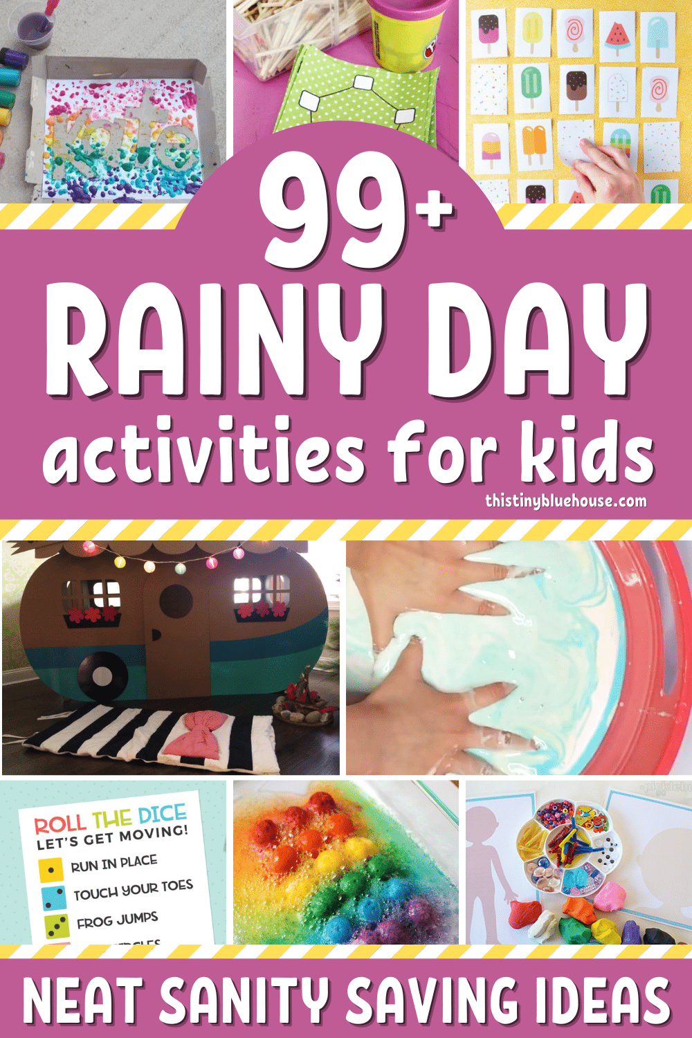 Neat Rainy Day Activities For Kids